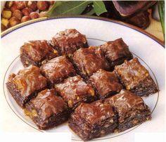 cikolatali_baklava #Turkish Dessert