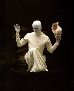 Sankai Juku, Japanese butoh dance troup.
