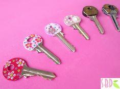 3 Modi per decorare le chiavi - 3 Methods for keys decoration (+lista de...