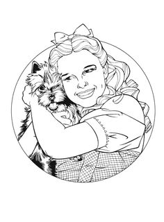 coloring page Wizard of Oz - Wizard of Oz