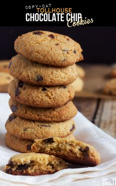 Paleo Chocolate Chip Cookies from Lexi's Clean Kitchen