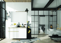 Meble łazienkowe/ bathroom furniture Lofty Collection Lofty, Divider, Room, Furniture, Design, Home Decor, Bedroom, Decoration Home, Room Decor