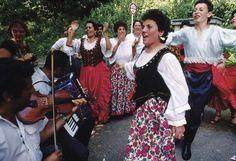Romani People dancing