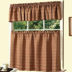 You'll love the Jeanette Kitchen Valance and Tier Set at Wayfair - Great Deals on all Décor  products with Free Shipping on most stuff, even the big stuff.