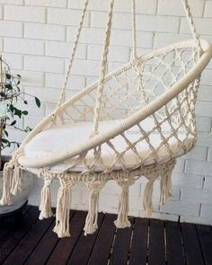 COMING SOON crochet hanging chair, bohemian, boho chic, rustic, comfort chair, h…  COMING SOON crochet hanging chair, bohemian, boho chic, rustic, comfort chair, home decoration, bohemian home, crochet hammock, baby room  http://www.coolhomedecordesigns.us/2017/06/10/coming-soon-crochet-hanging-chair-bohemian-boho-chic-rustic-comfort-chair-h/