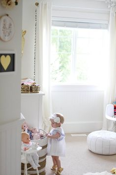Trend Watch: Moroccan Poufs in the Baby's Room