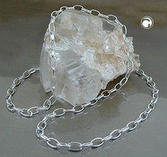 Dreambase Kette, Ankerkette oval, Silber 925
