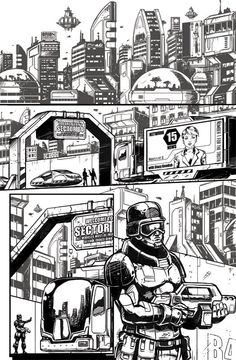 Sequential Art Comic Pages on Behance