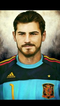 Really excellent photo of San Iker.