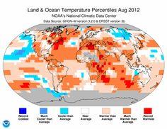 ALLPE Medio Ambiente Blog Medioambiente.org : En agosto hizo mucho calor (en todas partes)