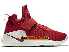 Nike Kwazi Chaussures Nike BasketBall Pas Cher Pour Homme Rouge/Blanc 844839-601