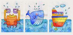 szuflada z rysunkami: Krab wieloryb i statek Disney Characters, Fictional Characters, Art, Art Background, Kunst, Performing Arts, Fantasy Characters, Art Education Resources, Artworks