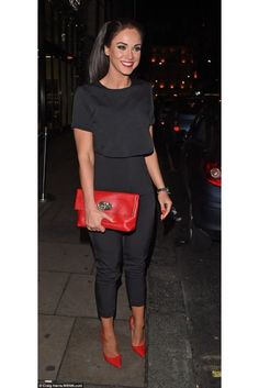 Black Cropped Jumpsuit As Seen On Vicky Pattison                                                                                                                                                                                 More