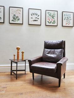 Lovely Danish Mogensen style Leather Armchair. Vintage Retro 60s 70s Mid Century | eBay