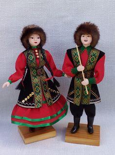 Сувенирная кукла в башкирском костюме, башкирский сувенир, авторская сувенирная кукла