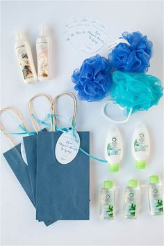 Bridal Shower Spa Favors | Evermine Weddings | www.evermine.com