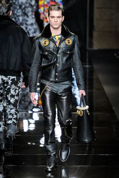 Versace Menswear Fall 2012