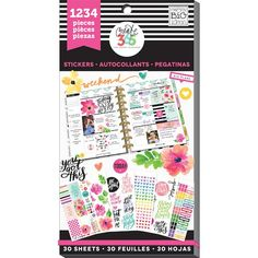 Buy the Create 365™ The Happy Planner™ Value Pack Stickers, Today Is the Day at Michaels