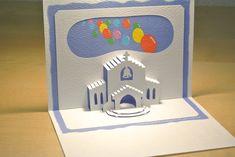 教会 Church [Origamic Architecture , Pop up card , kirigmi , 折り紙建築 , ポップアップカード]