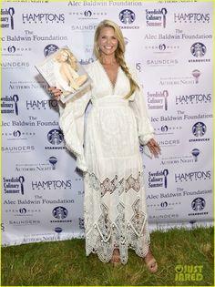 Gwyneth Paltrow & Christie Brinkley Celebrate Author's Night in the Hamptons
