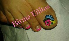Nail Designs, Nail Art, Pedicures, Nails, Flower, Toe Nail Art, Pretty Toe Nails, Polish Nails, Finger Nails