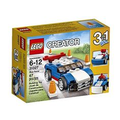 LEGO Creator Blue Racer Set 31027 Building Kit for sale online Lego Creator Sets, The Creator, Lego Friends Party, Christmas Shoebox, Sports Games For Kids, Operation Christmas Child, Buy Lego, Building Toys, Lego Sets