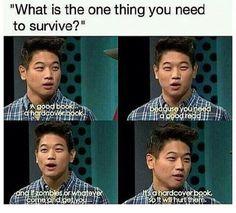 Hahabhshsbwjqjqbhqjwnkshqnqk that's the greatest logic I've ever heard of!