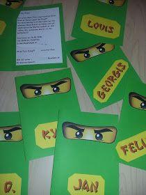 ninjago einladungskarten zum ausdrucken (mit bildern