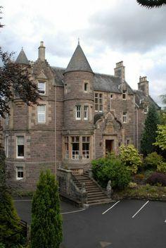 Knock Castle in Crieff - Perthshire, Scotland