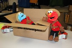 Elmo: I'll miss you Cookie. Have a safe, bump-free journey