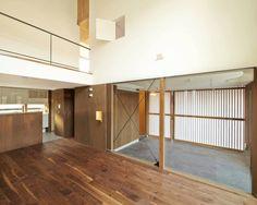 白砂孝洋建築設計事務所 の モダンな ガレージ/小屋 入間の家
