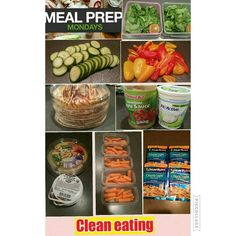 #cleaneating #mealpreparation Monday