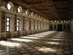 Spanish Hall at Schloss Ambros, Innsbruck, Austria