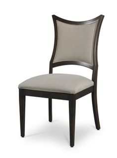 The Swank side chair from the Soignée dining room furniture collection by Somerton Dwelling.