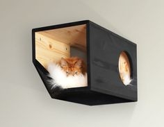 Catissa Single Sleeping Bed Module for Cats