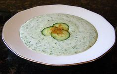 Anyone love Tzatziki like I do? Then you'll like this refreshing Chilled Cucumber Soup.