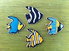 Fish Cookies - via Adventures in the Big Peach