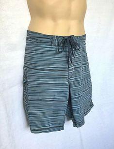 2421ee5872 LAIRD Board Shorts Swim Trunks SUP Legend Laird Hamilton Size 33 Stretch  Fabric | eBay