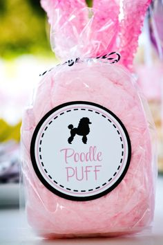Poodle Skirt Themed Birthday Party via Kara's Party Ideas KarasPartyIdeas.com Cake, tutorials, stationery, favors, supplies, and more! #poodleskirt #poodleparty #pinkandblackparty #poodleskirtyparty #karaspartyideas #girlbirthdayparty #piolkadotparty (25)
