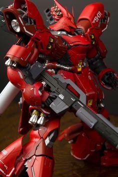 GUNDAM GUY: MG 1/100 Sazabe Ver Ka - Painted Build