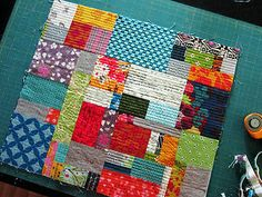 Quilt-as-You-Go bag outer | Flickr - Photo Sharing!