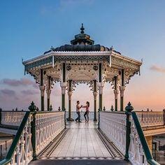 Der zauberhafte viktorianische Musikpavillon in Brighton: | 20 Reiseziele in Großbritannien, die wie für Instagram gemacht sind