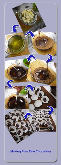 How To Make Raw Chocolate - I have all the ingredients, gotta try this!