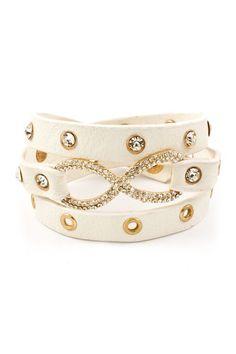 infinity wrap bracelet!