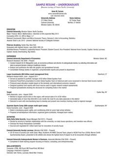 College Scholarship Resume Template   College Scholarship Resume Template  We Provide As Reference To Make Correct And Good Quality Resume.