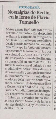 """El diario """"La Nación"""" de Argentina invita a """"Meine eigene Berlinale""""."""