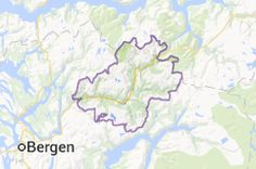 Map of voss norway