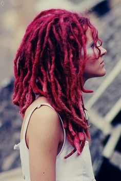 If I could look good in dreads these would be great! Natural Dreads, Natural Hair Twists, Natural Hair Updo, Natural Hair Styles, Dreadlock Hairstyles, Cool Hairstyles, Black Hairstyles, Wedding Hairstyles, Creative Hairstyles