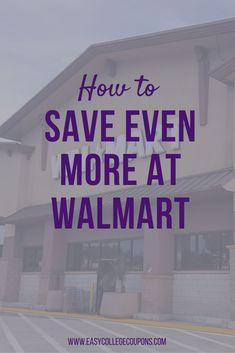 Save Money   App   Walmart Couponing
