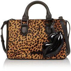 Kendall + Kylie Claire Leopard Printed Shoulder Bag- Leopard (1.375 BRL) ❤ liked on Polyvore featuring bags, handbags, shoulder bags, leopard, brown shoulder bag, brown purse, brown leather shoulder bag, brown leather handbags and shoulder strap bags